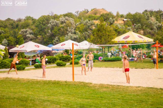 Волейбол. Зелена садиба Ділієва